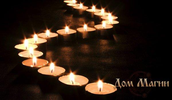 Ритуал с 7 свечами