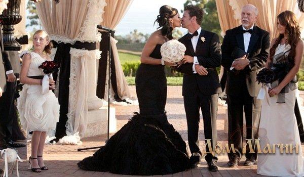 Черное свадебное платье во сне