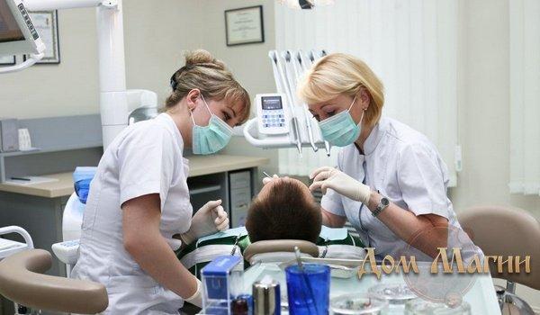 Стоматологическая клиника во сне