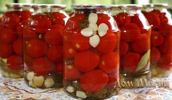 Красные помидоры в банке - сонник
