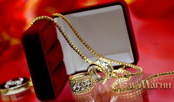 Сонник подарок цепочки из черного золота