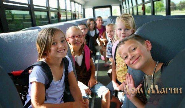 Автобус с детьми – толкование сна