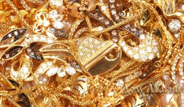 Если во сне у вас воруют золотые украшения