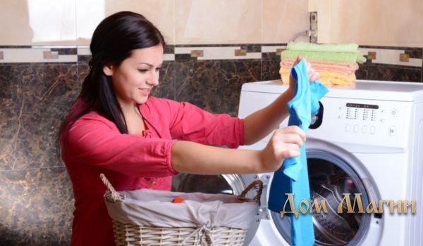 Сонник стирка белья в стиральной машине