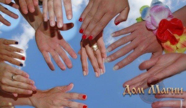 Как проводить обряд с ногтями?